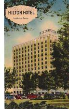 Postcard Hilton Hotel Lubbock Texas