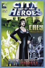 City of Heroes #8 (Jan 2005, Blue King Studios) Based on Video Game