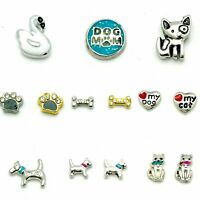Pets and animals charms for your origami owl locket.