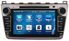"""8"""" Car Stereo Auto Radio DVD Player GPS Navigation For MAZDA 6 + Free 3D GPS Map"""