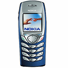 Brand New Unused Nokia 6100 Dark Blue Original Mobile Phone. Unlocked Phone.