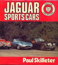Jaguar Voitures de sport-SS100 XK E-TYPE XJ-SC-D-type - grand livre par SKILLETER