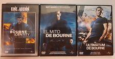 PELICULA DVD PACK TRILOGIA BOURNE 1+2+3