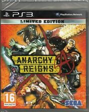 ANARCHY REIGNS: LIMITED EDITION GAME PS3 ~ NEW / SEALED