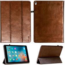 Premium Leder Cover für Apple iPad Pro 10.5 Tablet Schutzhülle Case Tasche braun