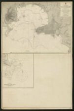 Montevideo Bay & town plan. Cibil dock. Uruguay. Admiralty sea chart 1902 map