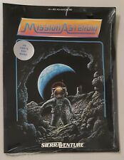 SEALED Mission Asteroid SierraVenture Sierra On-Line System Atari 400/800 New