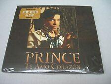 Prince Te Amo Corazon CD & DVD New & Sealed