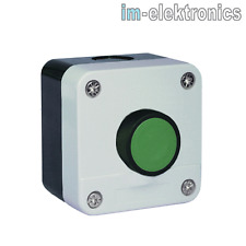 Impuls Taster grün Gehäuse IP65 AP Aufputz 1 x Schließer Tor Antrieb Garagentor