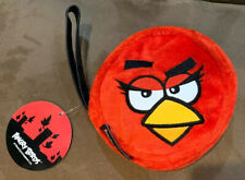 ANGRY BIRDS RED BIRD WRISTLET RED PLUSH SUPER CUTE!!