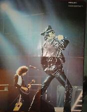 QUEEN (BARCELONA 1979) :  POSTER   !!!!( POPULAR 1 MAGAZINE)
