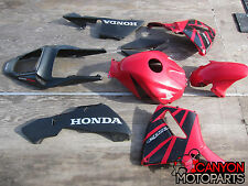 03 04 Honda CBR 600RR Partial Fairing Kit RED