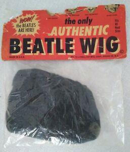 BEATLES 1964 Original Beatle Wig STILL SEALED UNUSED!