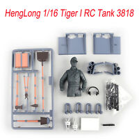 Car Body Model Parts for HengLong 1/16 Tiger I RC Tank Armored 3818 Accessories
