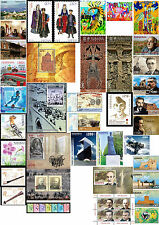 Armenia MNH** 2014 Complete Full YEAR 38 stamps, 5 S/S 1 S/sheet + Rare Nanjing