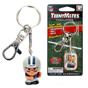 NFL Collectibles TeenyMates Tagalong Dallas Cowboys Clip-On Keychain