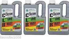 3 pack Clr 28 oz. Calcium Rust and Lime Remover glassware, tile, pots, stucco