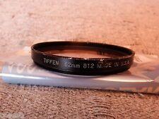 FOTOGRAFIA Filtro TIFFEN 62mm 812 USA  USADO