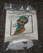 1989 Super Mario Bros. 3 McDonalds Happy Meal Toy - Luigi #2