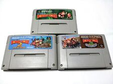 Super DONKEY KONG 1 2 3 Games /Cartridge Only/ S Famicom SFC SNES /Japanese Ver.