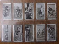 GREYHOUND RACING (1st series) -  OGDENS  -  Complete Set of 25 - 1927 - EX/EX+