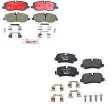 Land Rover LR3 Range Rover Front + Rear Brake Pad Set Brembo P44013N / P44014N
