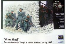 """MasterBox MB3571 1/35 """"Who's that?"""" German Mountain Troops & Soviet Marines"""