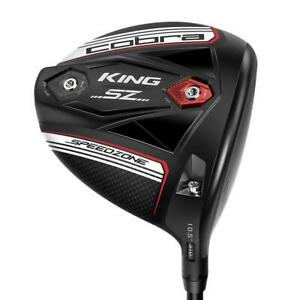 Cobra King SpeedZone Matte Black/White Drivers Milled Face High MOI  Pick Club