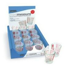 Glass Mini Measure In Oz, Tbl & Tea Spoon and ml up to 30ml