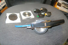 Vintage Dymo Chrome 1570 Label Maker 3 Embossing Wheels And 5 Tape Rolls