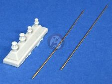 Panzer Art 1/35 German AFV 2m Standard Antenna Set WWII (2 pieces) RE35-181