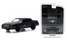 Greenlight 1:64 BLACK BANDIT COLLECTION SERIES 13 1984 CHEVROLET MONTE CARLO SS