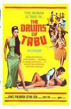 Drums Of Tabu Poster 01 A2 Box Canvas Print