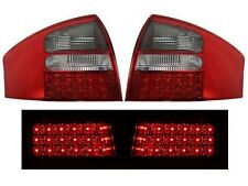 1998-2001 Audi A6 Sedan LED Tail Lights Red Smoke DEPO