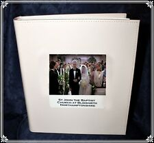 Personalised Large Wedding Photo Album own photo  and details Cellini Gift #5