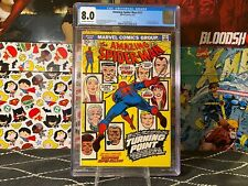 Amazing Spider-Man #121 CGC 8.0 OF/WP Key Death of Gwen Stacy Estate Sale Now!