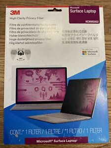 HCNMS002 3M HIGH CLARITY Privacy Filter For MICROSOFT SURFACE LAPTOP