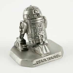 R2-D2 | Vintage 1990s Star Wars Figure by Rawcliffe Pewter