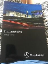 Original Mercedes Plan de Service - Carnet D'Entretien Scheckheft Neuf Blanc