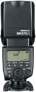 Meike MK570 II Flash Speedlite for Canon Nikon Pentax Olympus DSLR Cameras GN58