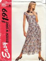 McCall's Stitch N Save Sewing Pattern # 7037 Misses Dress Size A 6-8-10-12 Uncut