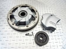 2005 02-05 BMW F650 F650CS FRONT REAR DRIVE PULLEYS PULLEY COVER GUARD SET OEM
