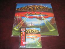 DON'T LOOK BACK by BOSTON JAPAN REPLICA LP IN OBI SEALED CD + 180 GRAM VINYL LP