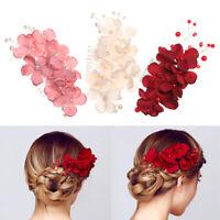 Hair Jewelry Bridal Clips Flower Hair Pin  Hair Combs Bridesmaid Tiara