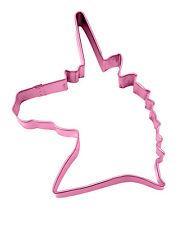 Chicas Unicornio Cabeza En Forma De Galleta Cortador Unicornio Rosa Galletas Fiesta De Alimentos