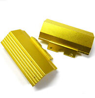L11089 1/10 Scale Buggy Front Bumper Deflector Alloy Gold Yellow x 2
