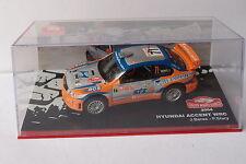 IXO ALTAYA HUYNDAI ACCENT WRC #71 MONTE CARLO 2004 1:43