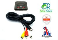 Sega Megadrive 2 Genesis 2 AV Cable TV Lead Composite Video Audio RCA - UK