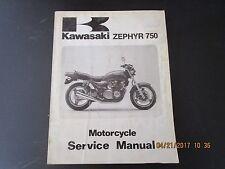 1991 Kawasaki ZR750-C1 Zepher OEM Factory Service Repair Manual