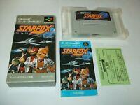 Star Fox boxed with Manual Nintendo Super Famicom SFC Japan import